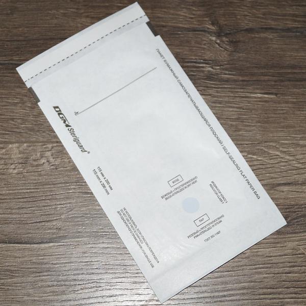"Крафт-пакет для стерилизации ""DGM Steriguard"", 115*200 мм"