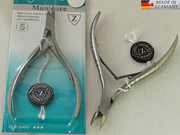Маникюрные кусачки GERMANY, # 8806