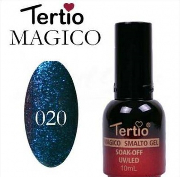 "Гель-лак ""Tertio"" Хамелеон, № 20"