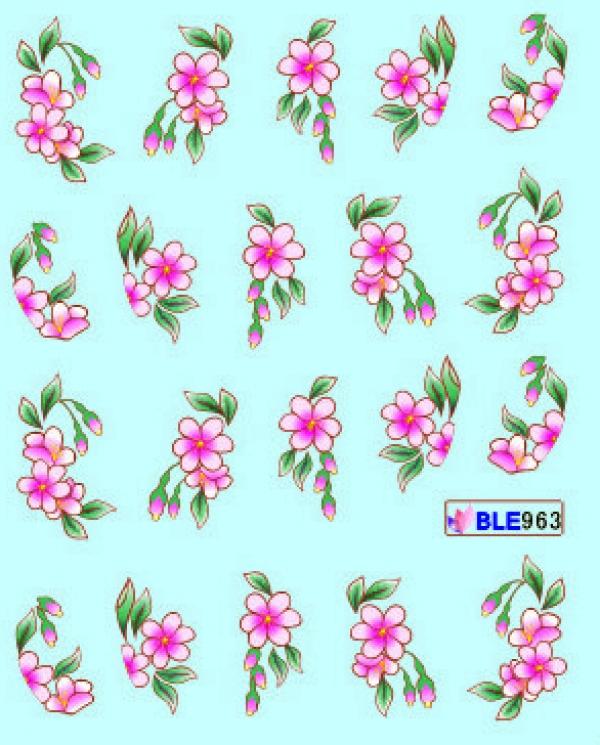 Наклейки цветные, № BLE963