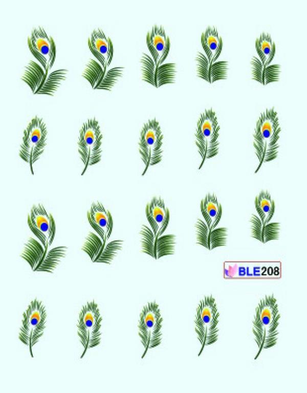 Наклейки цветные, № BLE208