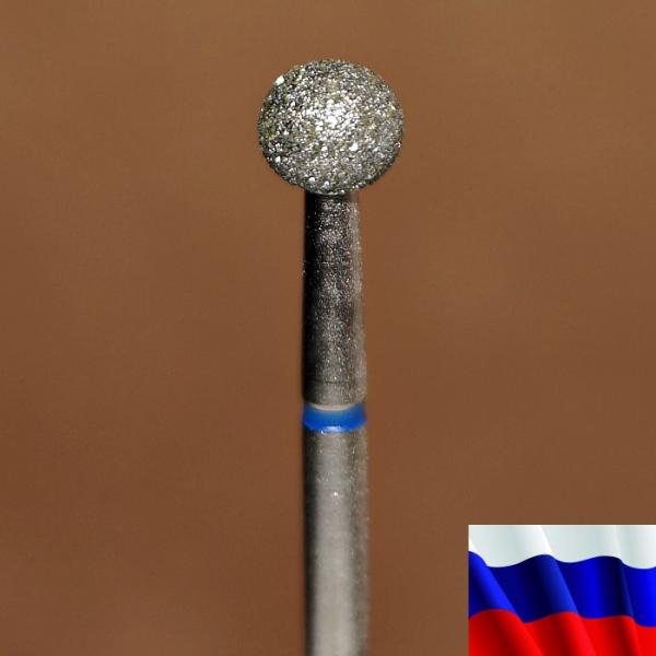 """Алмазная фреза """"ШАРИК"""" (синяя), d=5,0 мм"""