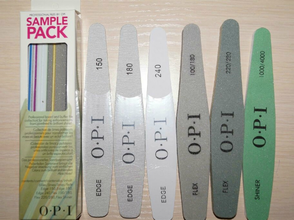 "Набор пилок для ногтей OPI ""SamplePack"", 6 шт."