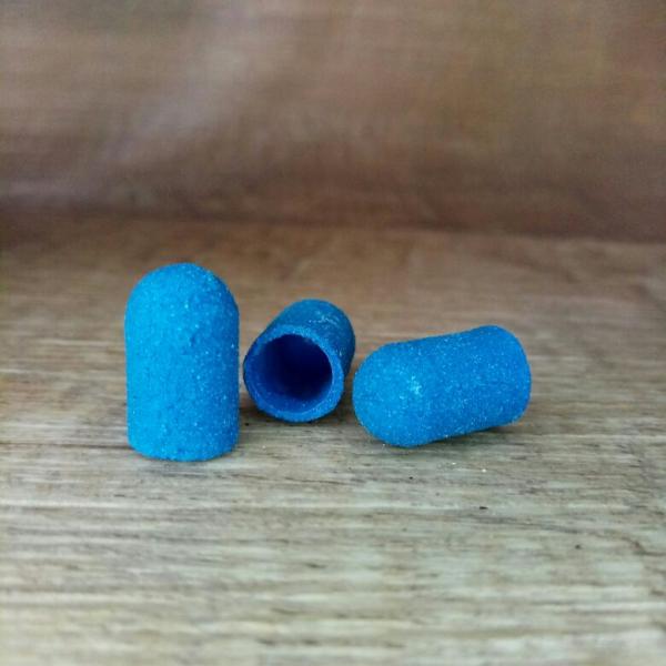 Колпачок 7*13 мм (синий), 180 грит
