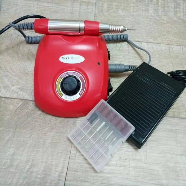 Аппарат для маникюра и педикюра DM-208 (красный), 35 тыс. об/мин
