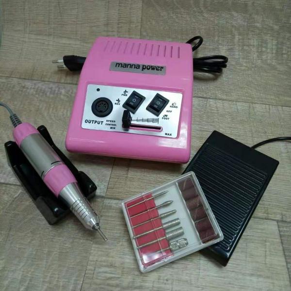 Аппарат для маникюра и педикюра DM-868 (розовый), 35 тыс. об/мин