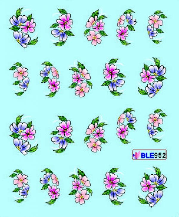 Наклейки цветные, № BLE952
