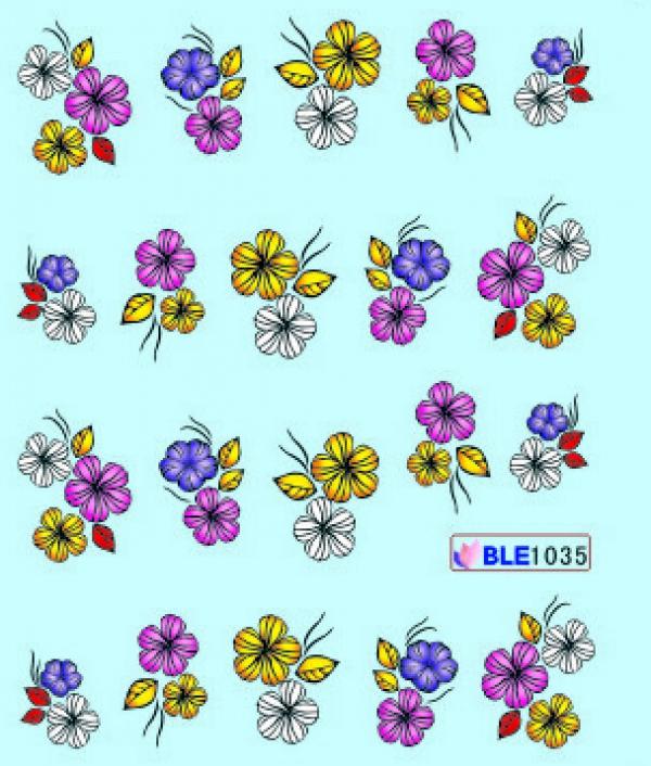 Наклейки цветные, № BLE1035
