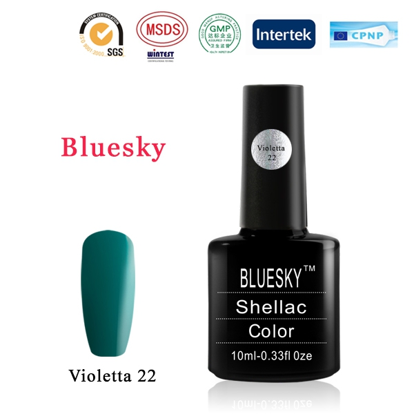 Shellac BLUESKY, № Violetta 22