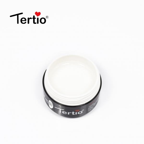 """Гель для ногтей """"Tertio"""" белый #23, 18 мл."""