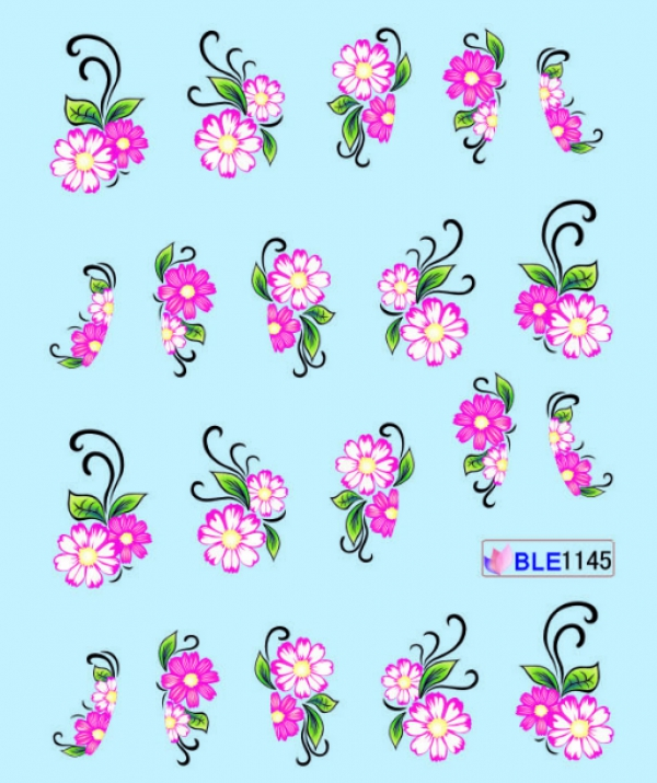 Наклейки цветные, № BLE1145