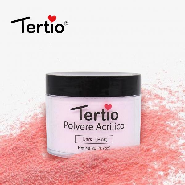 """Акриловая пудра """"Tertio"""" розовая, 48 гр."""
