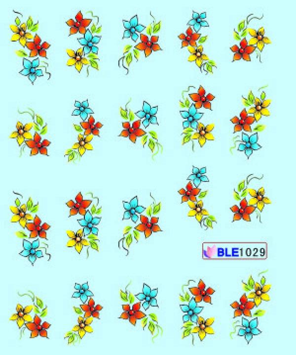 Наклейки цветные, № BLE1029