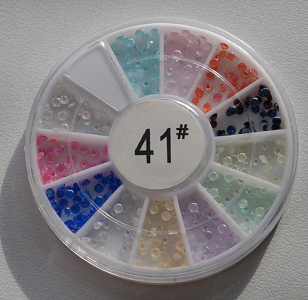 КАРУСЕЛЬ - цветной жемчуг, #41