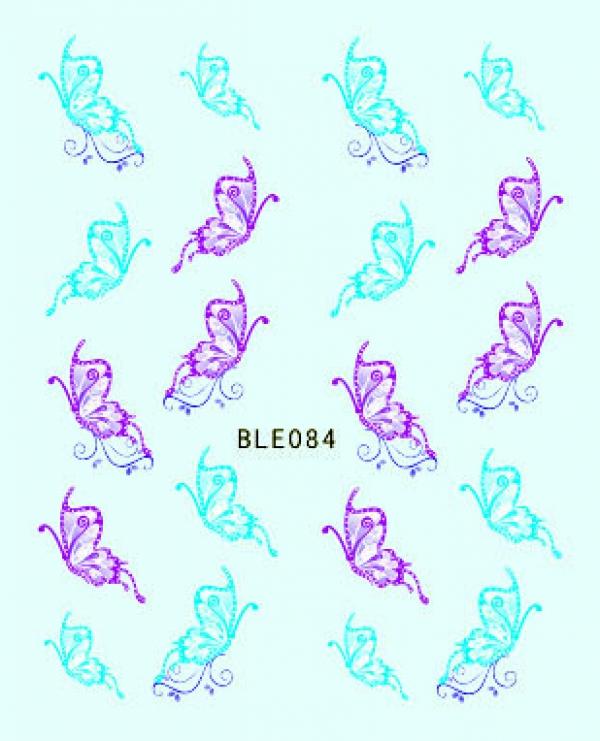 Наклейки цветные, № BLE084