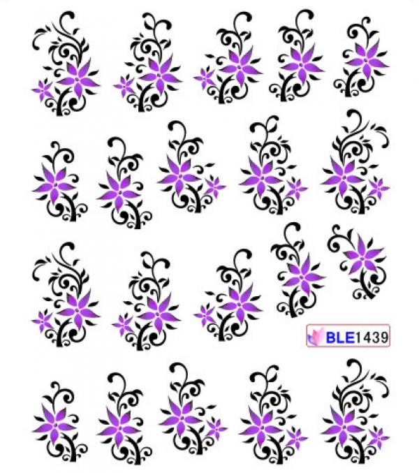 Наклейки цветные, № BLE1439