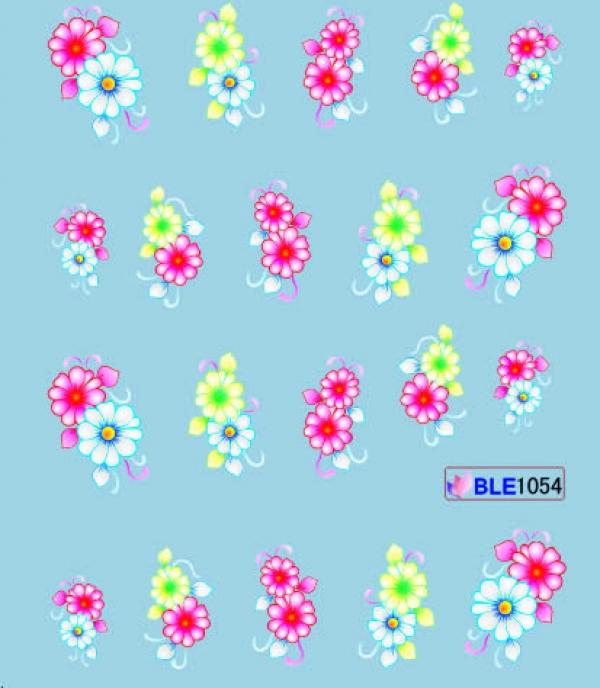 Наклейки цветные, № BLE1054