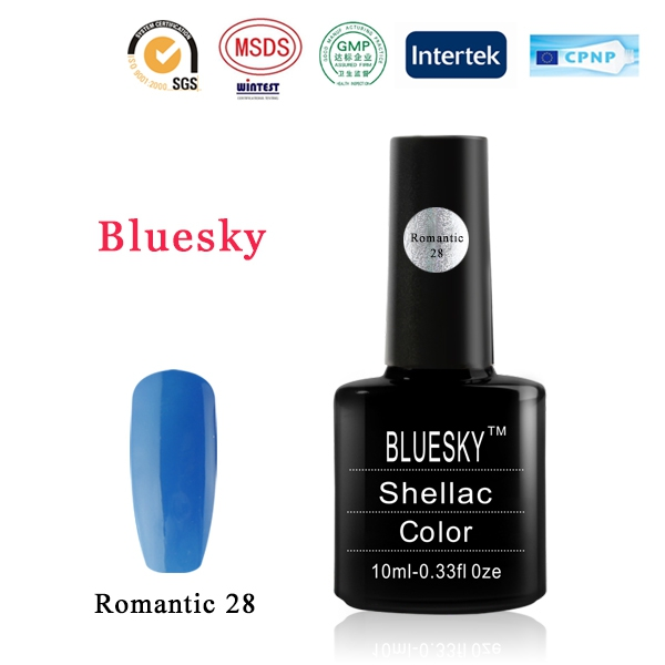 Shellac BLUESKY, № Romantic 28