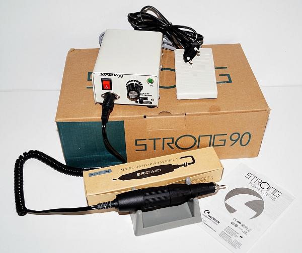 Профессиональный аппарат STRONG-90, 35 тыс. об/мин, 64 Вт