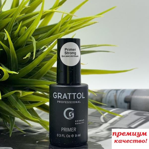 GRATTOL Primer Strong (праймер бескислотный), 9 мл.