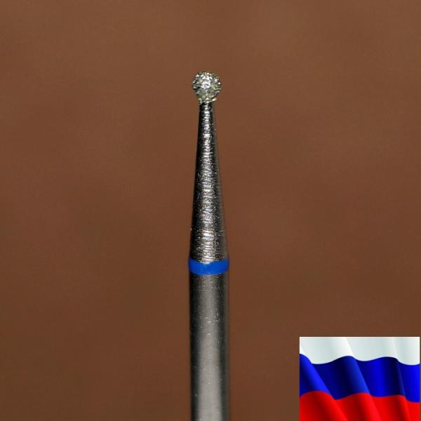 "Алмазная фреза ""ШАР"" (синяя), d=1,6 мм"