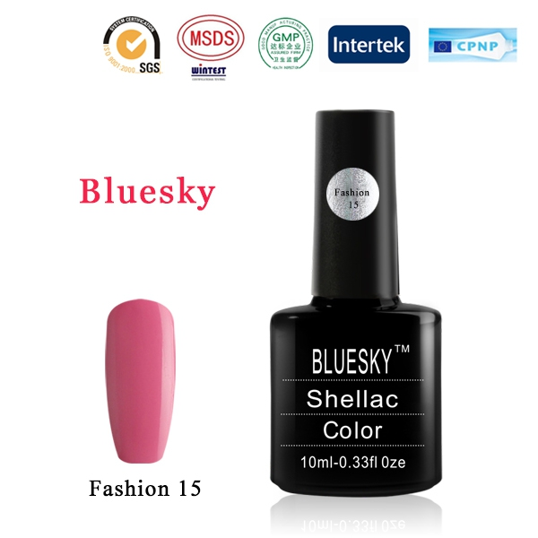 Shellac BLUESKY, № Fashion 15
