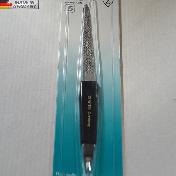 Металлическая пилка (10 см) + триммер GERMANY, # 8106F-1