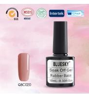 Bluesky Rubber Base COVER PINK (каучуковая база + камуфляж), № QBC 20