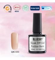 Bluesky Rubber Base COVER PINK (каучуковая база + камуфляж), № QBC 33