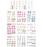 Наклейки цветные № BJC067-077, 11 штук на листе