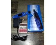Машинка-ручка для маникюра (синяя), 20 тыс. об/мин