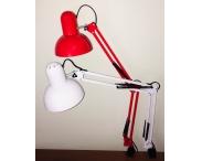 Настольная маникюрная лампа (красная)