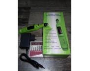 Машинка-ручка для маникюра (зеленая), 20 тыс. об/мин