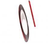 Нить для дизайна ногтей на клейкой основе (красная)