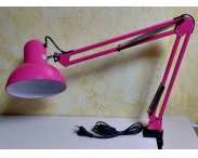 Настольная маникюрная лампа (розовая)