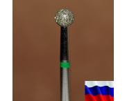 "Алмазная фреза ""ШАР"" (зеленая), d=4,0 мм"