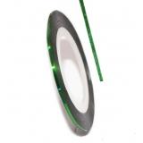 Нить для дизайна ногтей на клейкой основе (зеленая)