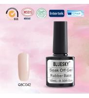 Bluesky Rubber Base COVER PINK (каучуковая база + камуфляж), № QBC 42